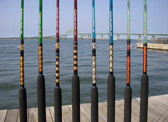 Ocean Gems Series Fishing Rods, Gull Reels & Fishing Rods