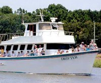 Party charter boats for Hilton head fishing party boat